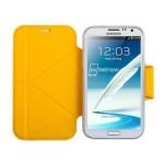 摩米士 三星GALAXY Note II皮纹保护套 手机配件/摩米士
