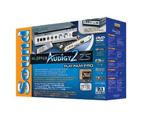 创新 Sound Blaster Audigy 2 ZS白金版图片