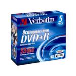 威�� 2.4速 DVD+R DL(�纹�盒�b) �P片/威��