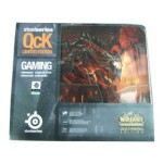 赛睿 SteelSeries QCK limited edition wow死亡之翼版 鼠标垫/赛睿