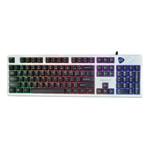 雷柯特RK400执行官彩虹版游戏键盘 键盘/雷柯特