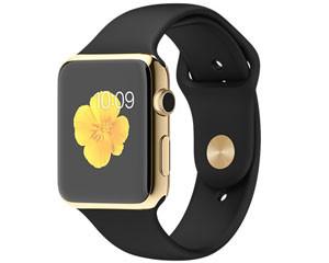 苹果watch Edition(42mm 18K黄金表壳搭配黑色运动型表带)