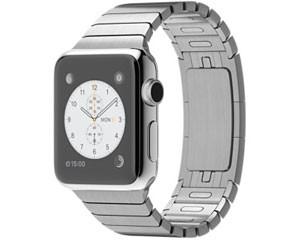 苹果watch(38mm不锈钢表壳搭配链式表带)