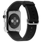 苹果42 毫米黑色经典扣式表带 数码配件/苹果