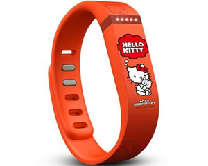 Fitbit flex Hello Kitty 40周年定制版