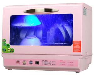 Govos 全自动新一代超音波洗碗机台式家用  粉红色
