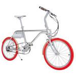 轻客智慧电单车TS01(芭莎红)