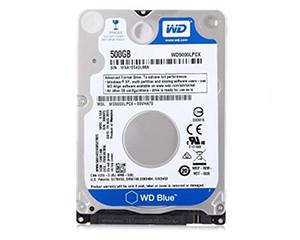 西部数据500GB 5400转16MB SATA3 蓝盘(WD5000LPCX)图片