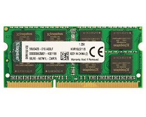 金士顿低电压版 8GB DDR3 1600(KVR16LS11/8)图片
