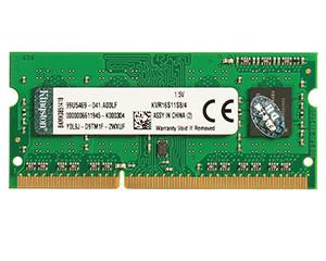金士顿4GB DDR3 1600(KVR16S11S8/4BK)图片