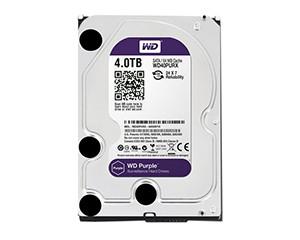 西部数据紫盘4TB 64MB SATA3(WD40PURX)图片