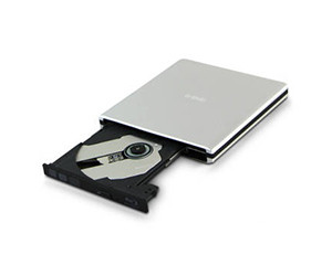 e磊铝合金笔记本外置光驱DVD刻录机 台式机上网本光驱 GT50N 3.0刻录机 银色图片