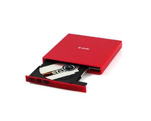 e磊外置光驱康宝 笔记本外接光驱 台式移动DVD光驱 USB光驱 CD刻录机 EL-R7 红色图片