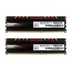 宇帷CORE系列火焰红 DDR3 2400 8GB(4G×2条)台式机内存(AVD3U24001104G-2CIR) 内存/宇帷