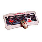 森松尼ST-890烈焰键鼠套装 键鼠套装/森松尼
