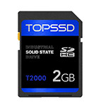 天硕T2000工业SD卡(2GB) 闪存卡/天硕