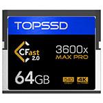 天硕CFast MAX Pro系列 3600X(64GB) 闪存卡/天硕