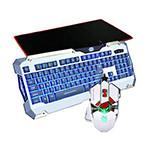 剑圣一族发光游戏键鼠套装(机械师三色键盘) 键鼠套装/剑圣一族
