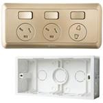 公牛厨房专用插座(G10E603)金 智能插座/公牛