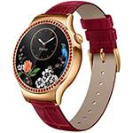 华为WATCH 星月系列 施华洛世奇天然宝石版(红色鳄鱼纹牛皮表带) 智能手表/华为