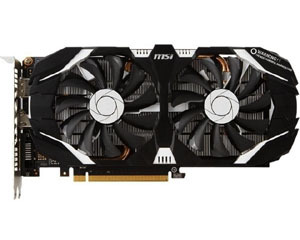 微星GeForce GTX 1060 飙风 3G图片