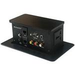 AOSENS(奥盛) 三面升降式双电源桌面插座(AS-720V) 综合布线/AOSENS(奥盛)