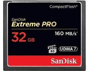 闪迪至尊超极速CompactFlash卡(32GB)图片