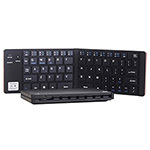 精亚GK228DM蓝牙/有线双模折叠键盘 键盘/精亚