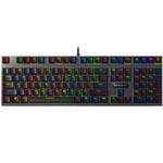 雷柏V700RGB合金版幻彩背光游戏机械键盘
