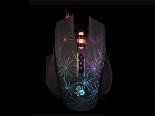 血手幽灵P88光微动5K RGB彩漫鼠标