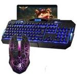 虎猫新盟有线背光键鼠套装(K39+牧马人鼠标) 键鼠套装/虎猫