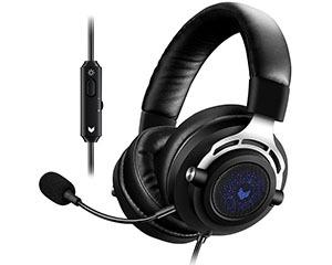 雷柏VH150背光游戏耳机图片