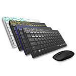 雷柏8000M多模式无线鼠标套装 键鼠套装/雷柏