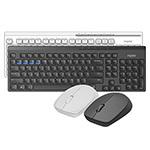 雷柏8100M多模式无线鼠标套装 键鼠套装/雷柏