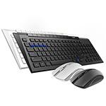 雷柏8200M多模式无线鼠标套装 键鼠套装/雷柏