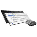 雷柏9060M多模式无线鼠标套装 键鼠套装/雷柏