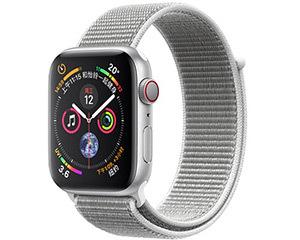 苹果Watch Series 4(44mm表盘/铝金属表壳/GPS+蜂窝网络)