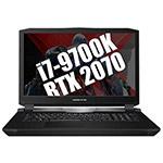 吾空X7(i9 9900K/32GB/2×512GB+2TB/RTX 2080) 笔记本电脑/吾空