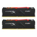 金士顿骇客神条FURY 16GB(2×8GB)DDR4 2666 RGB(X426C16FB3AK2/16) 内存/金士顿