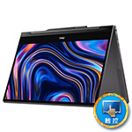 戴尔Inspiron 灵越 13 7000 系列 二合一笔记本电脑黑色版(Ins 13MF PRO-D7905TB) 笔记本电脑/戴尔