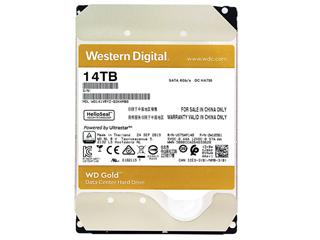 西部数据14TB 7200转 512MB 金盘(WD141VRYZ)图片