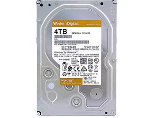 西部数据4TB 7200转 256MB 金盘(WD4003VRYZ)图片