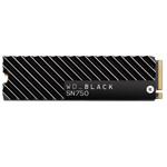 西部数据WD_BLACK SN750 NVME SSD带散热片(500GB) 固态硬盘/西部数据