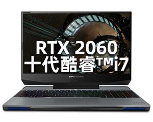 机械师 战空F117-V(i7 10750H/16GB/512GB+1TB/RTX2060)