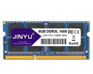 瑾宇海力士芯片DDR3L 1600 8GB(笔记本)图片