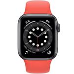 苹果Apple Watch Series 6 44mm(GPS/铝金属表壳/运动型表带) 智能手表/苹果