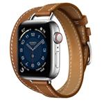 苹果Apple Watch Hermès Series 6 40mm(GPS+蜂窝网络/不锈钢表壳/Attelage Double Tour表带) 智能手表/苹果