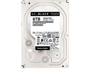 西部数据黑盘8TB SATA6Gb/s 256M(WD8001FZBX)图片