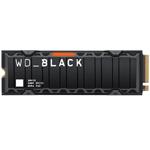 西部数据WD_BLACK SN850带散热片(1TB) 固态硬盘/西部数据