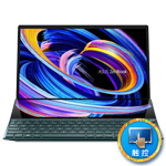 华硕灵耀X 双屏(i7 1165G7/32GB/1TB/MX450) 笔记本电脑/华硕